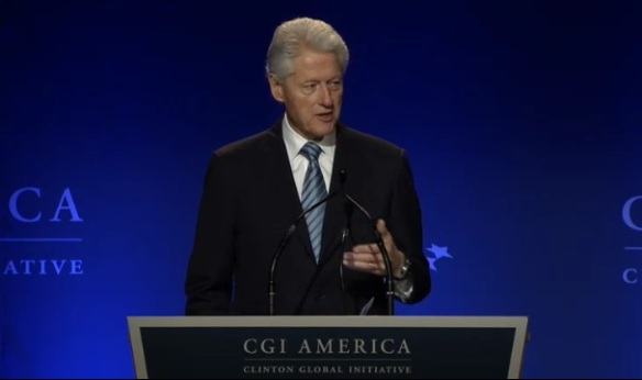 Bill Clinton CGI America 2013